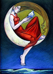Reading by Moonlight 2