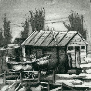 Rye Fishermans Shed