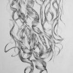 Antonia's Hair, detail