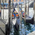 Gondolas at The Rialto