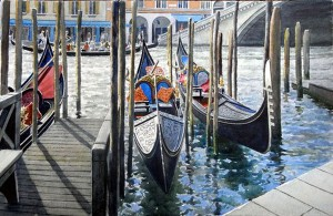 Gondolas at The Rialto