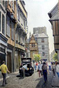 A Street in Quimper