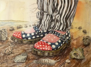 Maz's Shoes by Claire Sparkes ASGFA