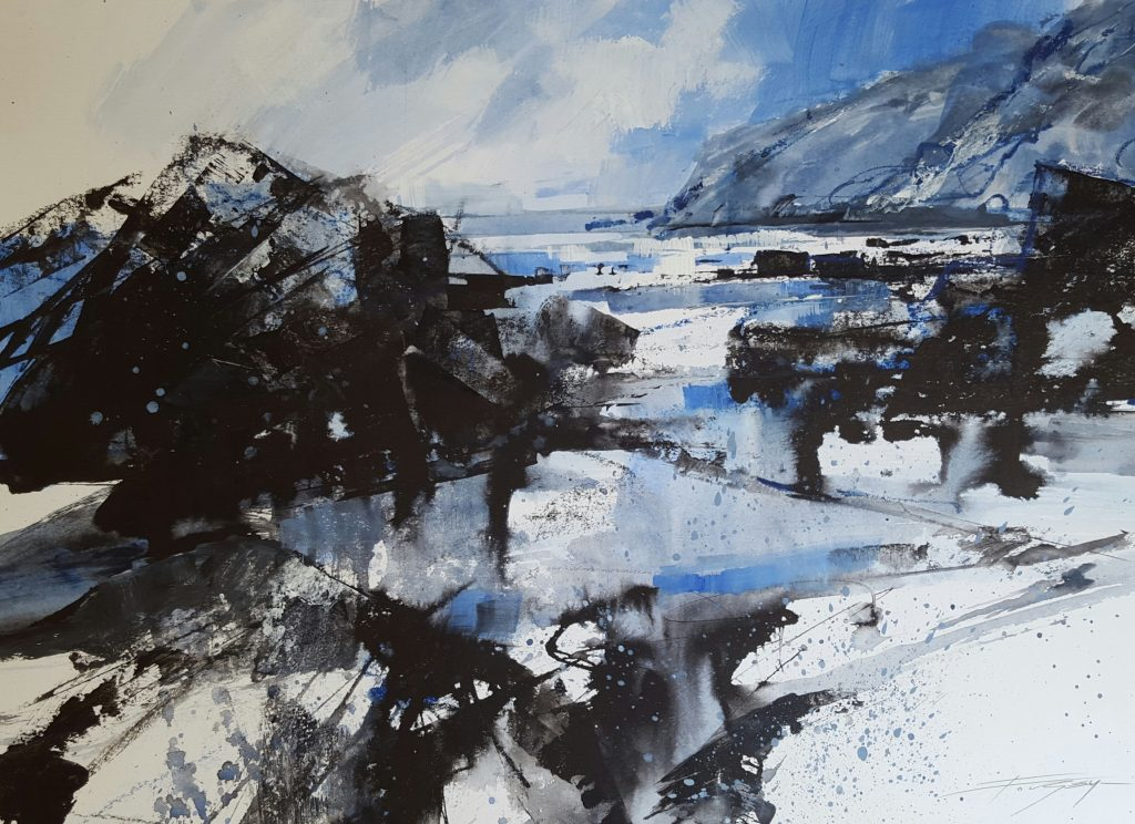 'Tregardock Rocks' by Chris Forsey RI SGFA