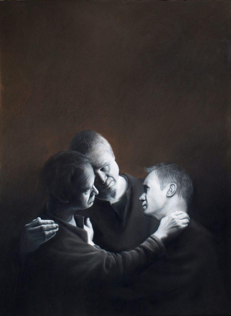 'Triple Self' by David Gleeson