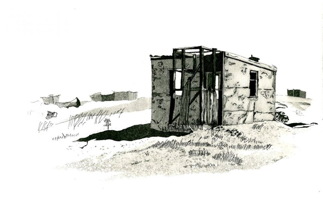 Highly Commended Print Winner: 'Dungeness Shack' by Vincent Matthews SGFA