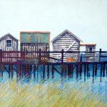 Christine Hopkins, Fishing Shacks
