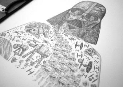 Star Wars by Emma J Shipley ASGFA