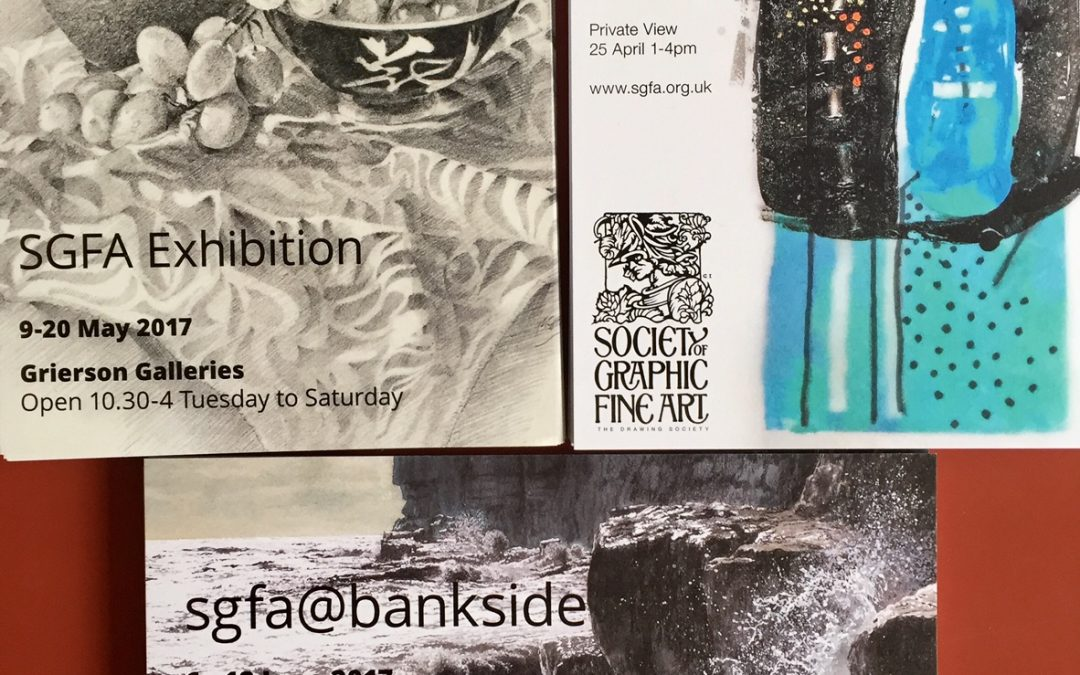 Upcoming Exhibitions from the SGFA