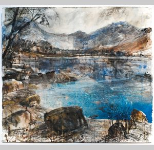 Robert Dutton, Winter Reflections, Buttermere, Cumbria