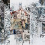 Architectural collage Sally Wilson