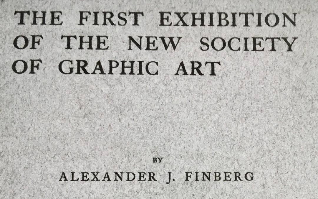 Celebrating One Hundred Years: SGFA's First Show