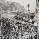 A Gathering of Nets, the Day's Work Done, Cadgwith Alice Hole