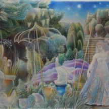 Barton-Elizabeth-Venus-in-the-Night-Garden-V-Polychromos-Pencils