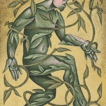 Brooke-David-Dancing Green Man-Acrylic