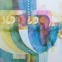 Elephants in the room…..a Covid feeling Watercolour