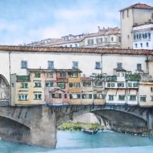 Eggleton-Margaret-PonteVecchio-Watercolour