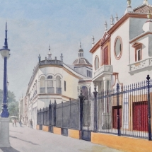 Kenneth Head: Entrance To The Bullring Seville