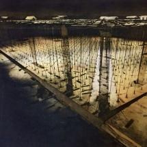 Perera-Sumi-Rebuilding The Built XII-etching, aquatint & handtinting