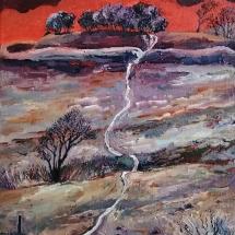 Stanley Stuart Highdown oil on canvas 40x 30 cm