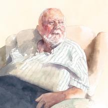 Barton Sally Dad, 96, Chaucer House Care Home