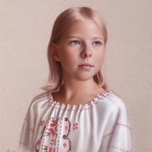 Cameron Svetlana SGFA Portrait of a Girl in Russian Blouse