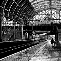 Coleman Rebecca SGFA Paddington Station Platform 8