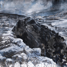 Dutton Robert ASGFA April sunlight, rain and high winds in Malhamdale - The Yorkshire Dales