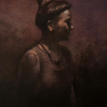 Gleeson David ASGFA Portrait of Ela