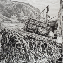 Hole Alice NAPA ASGFA A Gathering of Nets, the Day's Work Done, Cadgwith