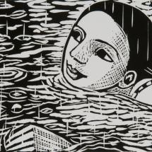 Klein Anita PPRE Hon RWS Hon SGFA Swimming in the Rain