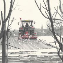 Morriss Simon SGFA Ploughing near Lechlade