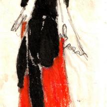 Webb Olive SGFA Study for Japanese Figure
